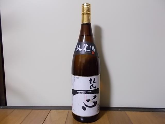杜氏一心 純米酒 1800ml