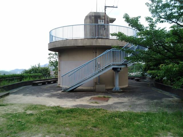 貯水タンク展望台