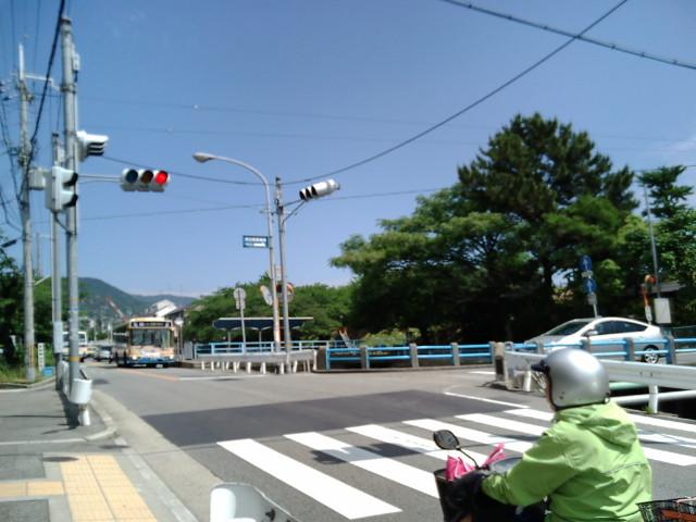 広田神社付近