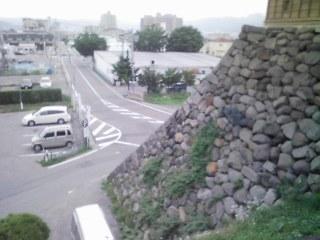 高島城の石垣