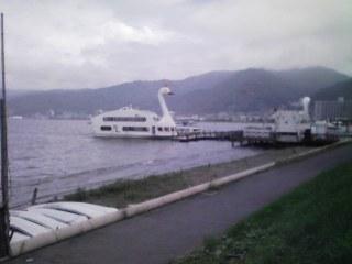 白鳥型遊覧船