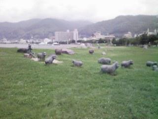 ブロンズ羊