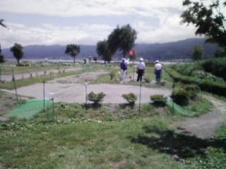 ゲートゴルフ?