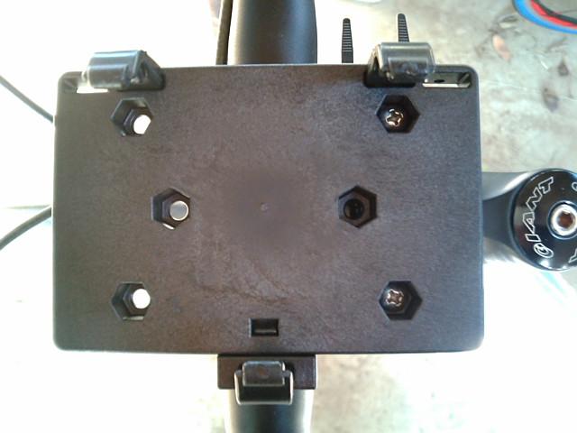 PDA用ホルダー固定