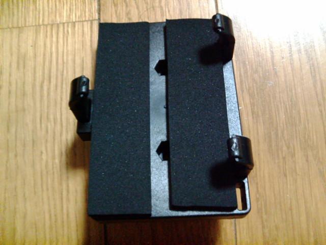 PDA用ホルダーにテープ貼り付け