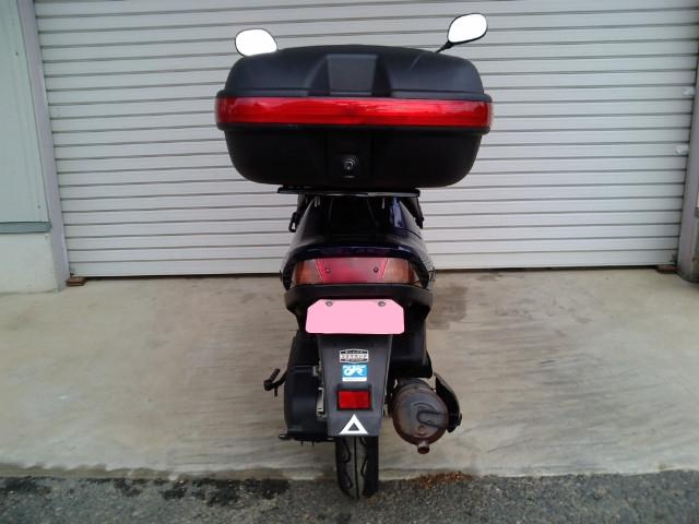 バイクボックス後ろ