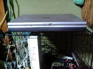 マウスコンピュータノートをサーバへ