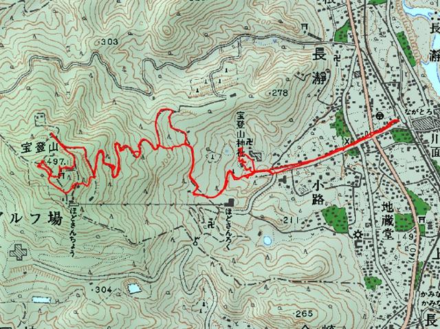 宝登山ルート