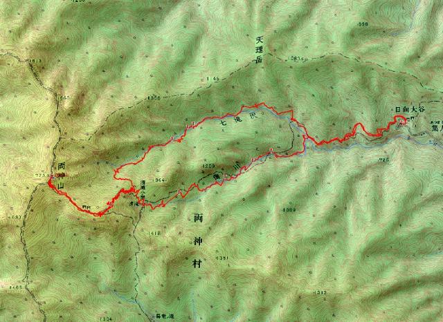 両神山ルート