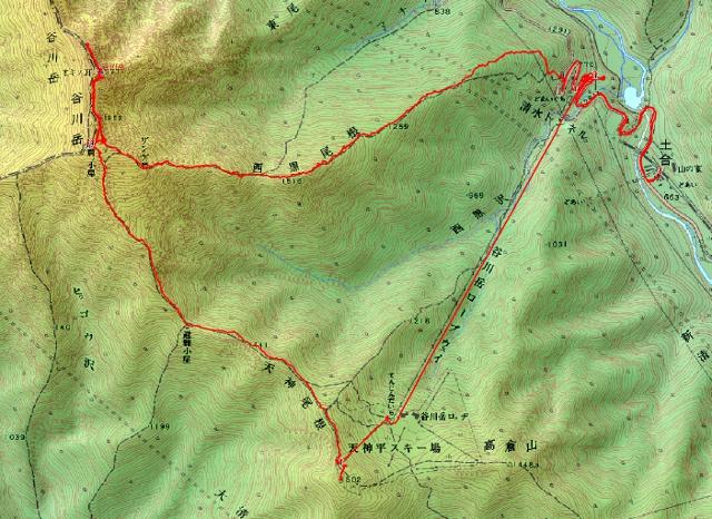 谷川岳ルート