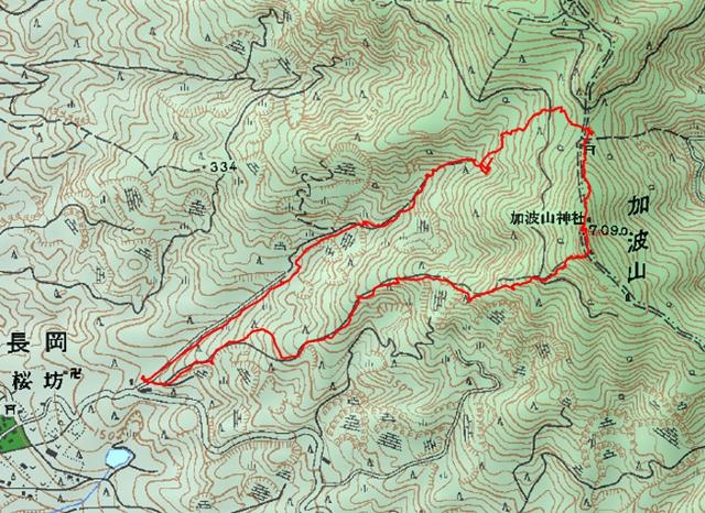 加波山ルート