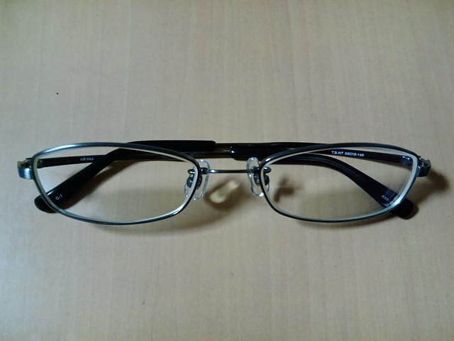 フレーム交換したメガネ