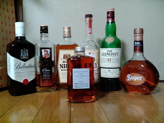 色々なウィスキー