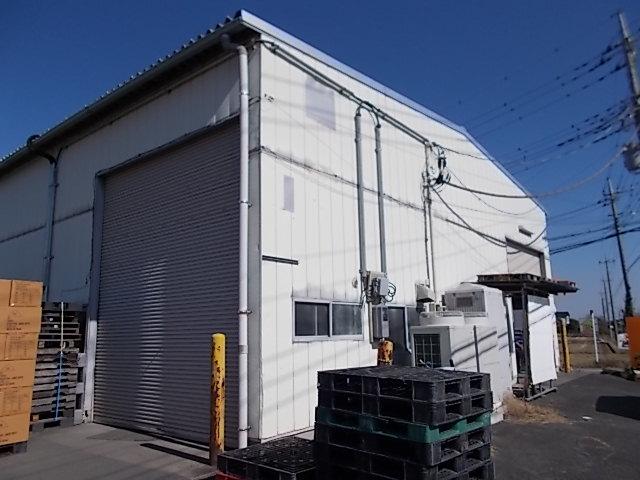 田舎の倉庫