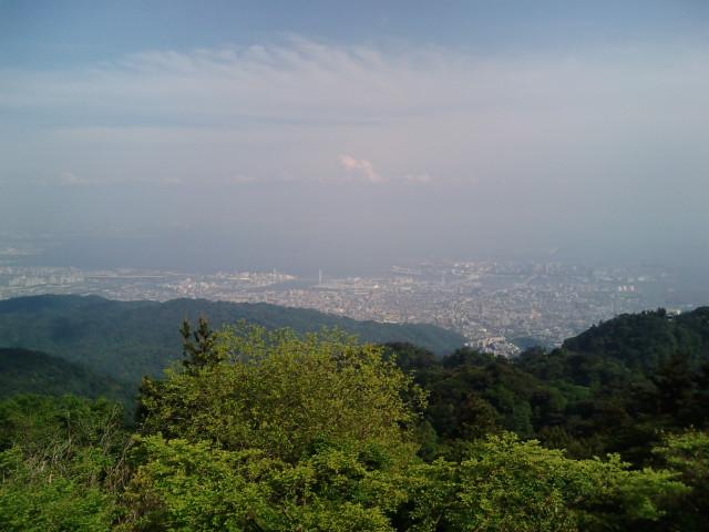 神戸の街の景色