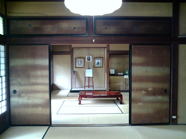 旧豊田佐助邸の和室