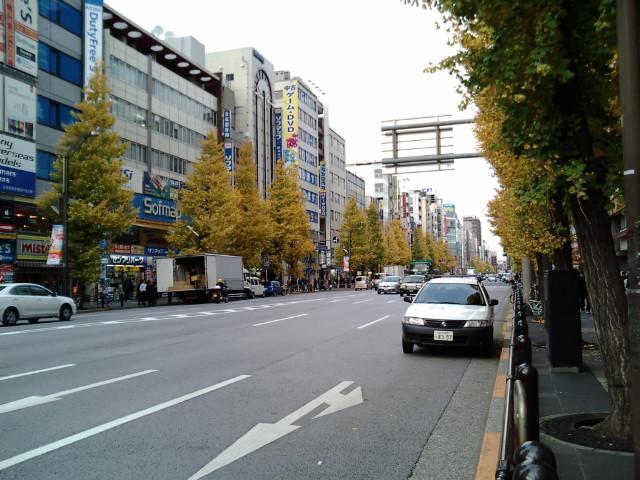 秋葉原の中央通り