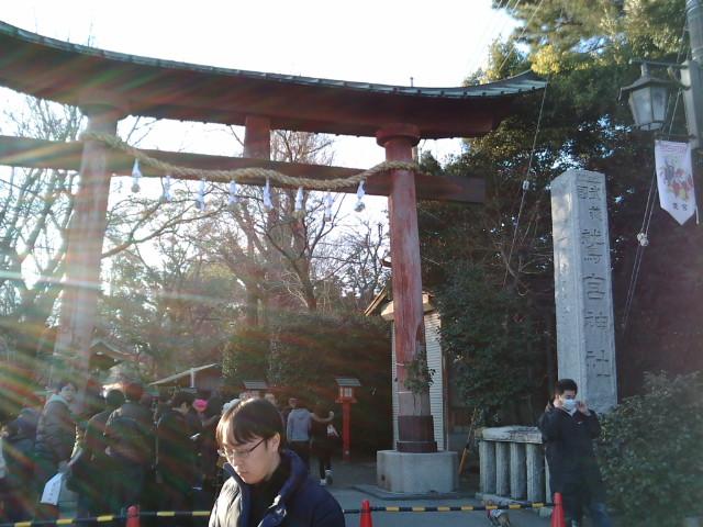 鷲宮神社の鳥居