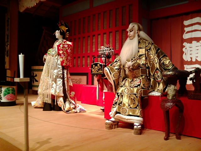 歌舞伎役者の作り物