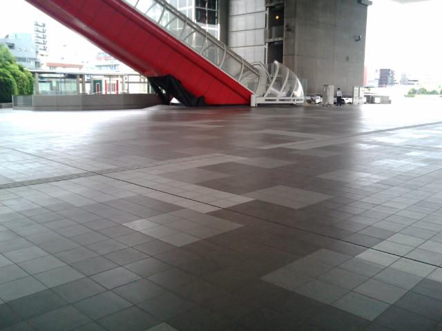 江戸東京博物館3Fは広場