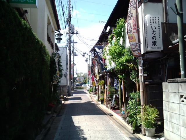 富岡の町並み