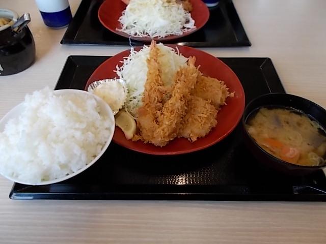 海老ヒレカツ定食