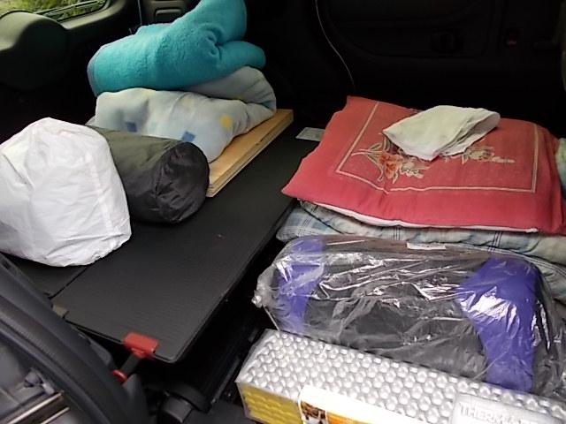 車中泊装備3