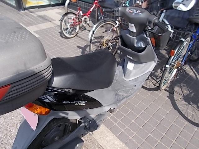 三菱UFJ春日部支店前に駐輪