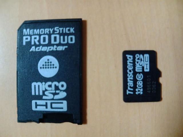 MSD-MSPD2とTS32GUSDC10