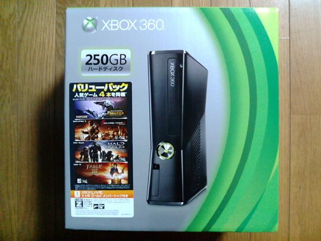 Xbox 360 250GB バリューパック