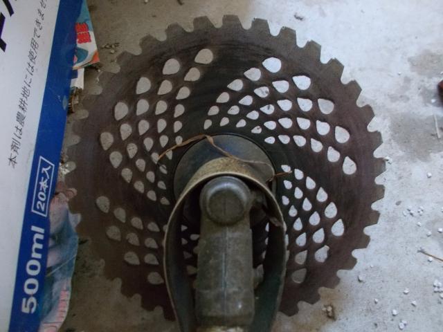 草刈り機の刃