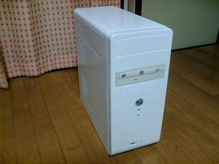 新造Linuxデスクトップパソコン
