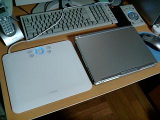 12インチノートパソコン同サイズのCTE-650