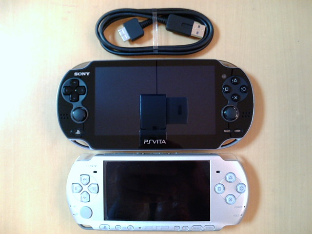 PS VitaとPSP