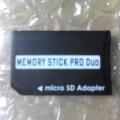 microSD→MSProDuo変換アダプタ