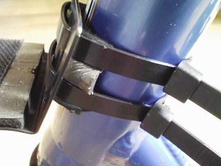 スノースクートオンボードカメラ用の固定ステー