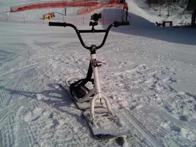 電装スノースクート雪風