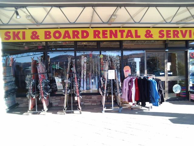スキーレンタル店
