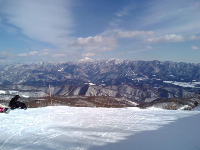オグナ山頂