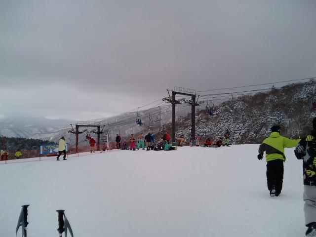スキーセンター付近